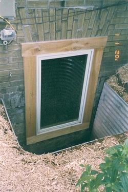 Egress window options basement window guy for Glass block options